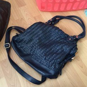 Navy purse